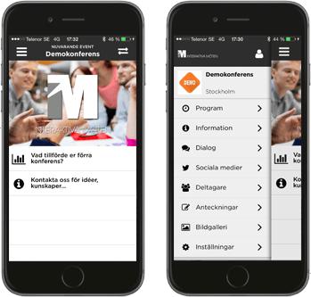 Plattform interaktivt möte