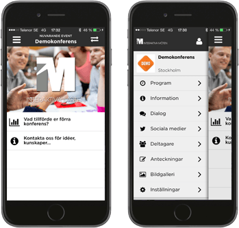 Plattform virtuellt möte